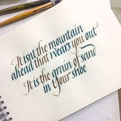 Some italics. . . #calligraphymasters #calligraphy #sachinspiration