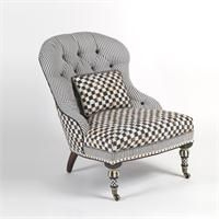 Underpinnings Accent Chair from MacKenzie-Childs, Ltd.