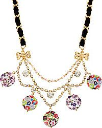 Necklaces - Shop Women's Fashion & Charm Necklaces from Betsey Johnson