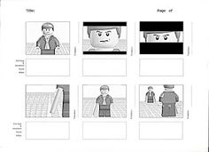 Stop Motion Animation - Survival of the Fittest  Storyboards for my stop motion animation created with Lego