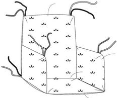 Un coussin de chaise haute proposé par Blue marguerite . Le tutoriel est bien détaillé avec schémas à l'appui. Un modèle simple à coudre, à réaliser avec du coton enduit pour faciliter l'entretien. Bonne couture !