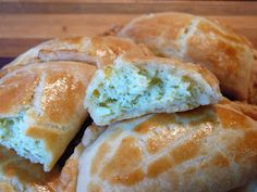 Flaky Feta Turnovers - These are similar to the Greek recipes as well.