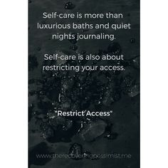 """""""Restrict Access"""" 