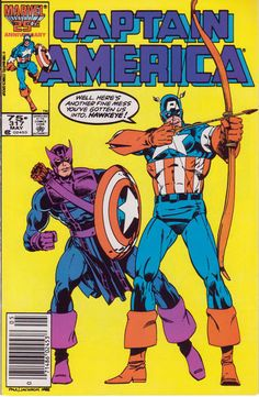 Captain America 317 May 1986 Issue Marvel Comics by ViewObscura Marvel Comics, Marvel Comic Books, Comic Book Heroes, Marvel Heroes, Comic Books Art, Jack Kirby, Captain America Comic Books, Capt America, Marvel Entertainment