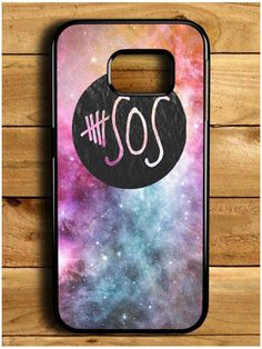 5 Second Of Summer Logo Galaxy Samsung Galaxy S6 Edge Case