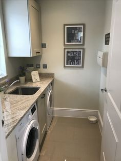 Utility Room in a Redrow Shaftesbury home Laundry Room Design, Laundry Rooms, Redrow Homes, New Homes, Home Appliances, House Styles, Kitchen, Ideas, House Appliances