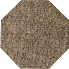 Mercury Row Attalus Brown Indoor/Outdoor Area Rug Rug Size: