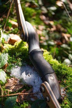 Leather stitch handle sleeve #archery