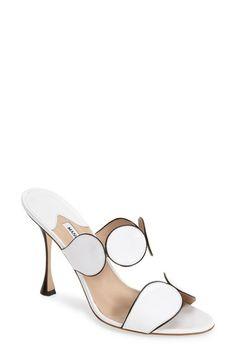 Manolo Blahnik 'Alikamu' Leather Sandal (Women) available at #Nordstrom