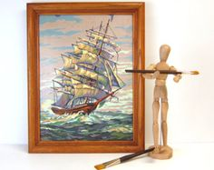 paint by number pbn ship on Etsy, a global handmade and vintage marketplace.