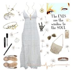 """These Eyes"" by jennie-bo-bennie ❤ liked on Polyvore featuring Bling Jewelry, Jules Smith, Blu Bijoux, L*Space, Diane Kordas, Casetify, Pamela Love, Blazin Roxx, Good Work(s) and H&M"