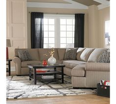 Ethan Sectional | Broyhill : broyhill sectionals - Sectionals, Sofas & Couches