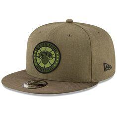 8bfa990264d Men s New York Knicks New Era Olive 2018 Tip-Off Series 9FIFTY Adjustable  Hat