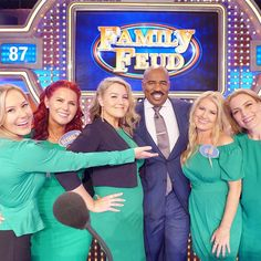 The Family Feud game show with Steve Harvey and the Keith Family airing soon! Save the Date for November and January air times. Family Feud Game Show, Family Show, Steve Harvey, Kelly Clarkson, Universal Studios, Your Girl, First Night, In Hollywood, Front Row