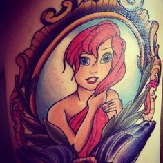 Ariel little mermaid tumblr tattoos I WANT THIS <3