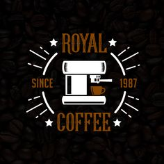 Coffee Shop Vintage Logo & Badge, 100% vector best for your Shop branding.