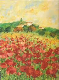 Impressionism poppies