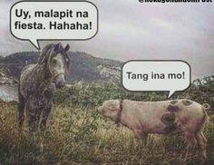 Tagalog Quotes Hugot Funny, Funny Quotes, Filipino Funny, Hugot Lines, Pick Up Lines, Twisted Humor, Pinoy, Haha, Jokes