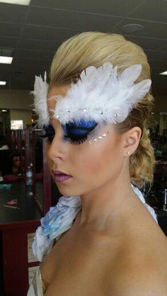 Makeup competition I won #1 place