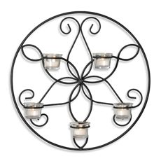 Amelia Round Sconce, BB, $25 for one. Might look good in dining room or in stairway?