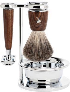 Mühle Rytmo Pure Badger barbersett 4 deler - Ask