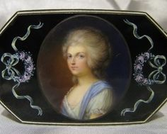 Fine French or English Silver Gilt Enamel Snuff Box 18th Century