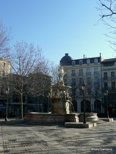 Early on a February morning Place Carnot looks peaceful, the fountain serene, waiting for the square to fill as people enjoy the spring sunshine. Carcassonne, Serenity, Fountain, Fill, February, Waiting, Sunshine, Louvre, Traveling