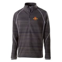 Men's Iowa State Cyclones Deviate Pullover, Size: Large, Med Grey