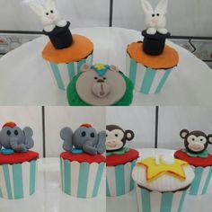 Cupcakes Tema Circo