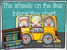 The Wheels on the Bus Interactive Chart FREE Download - Mrs Jumps class
