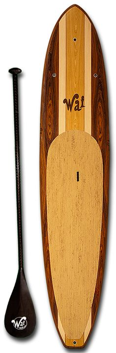 WAI's wooden Stand Up Paddleboard #beautiful #california - this just looks like fun! On my bucket list