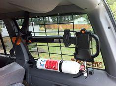 Axe inside window mount