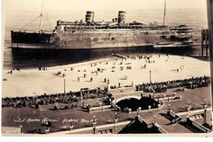 The tradegy of the SS Morro Castle.