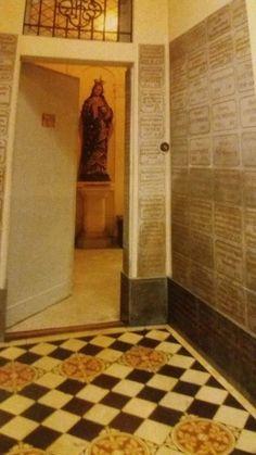 Enclosure door at the Lisieux Carmel