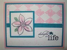 Delight in Life by sn0wflakes - Cards and Paper Crafts at Splitcoaststampers