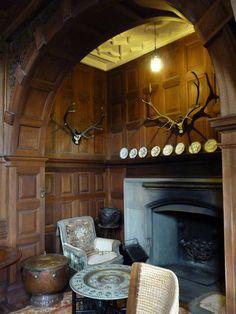 Rum Kinloch Castle drawing room fireplace by damiandude, via Flickr