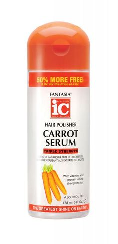 Carrot	 Products by Fantasia Hair Care