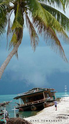 Old houseboat - Koh Phangan, Thailand
