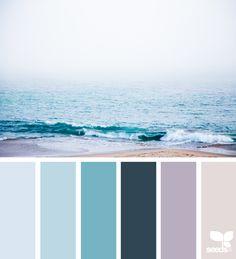 Color Shore via @designseeds