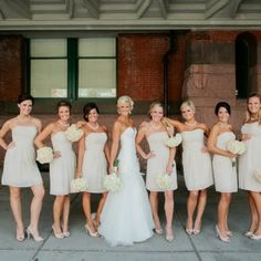 Managing Relationships: You and Your Bridesmaids!  Read our blog for tips on how to work well with your ladies! #w101nashville #nashvilleweddingplanning #bridesmaids