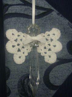 Crystal Angel w/ Crochet Wings FREE pattern