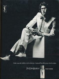 A Retrospective of Yves Saint Laurent Advertising | Oyster