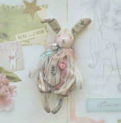 Textiles, Doll Hair, Softies, Small Gifts, Stuffed Animals, Doll Toys, Art Dolls, Doll Clothes, Creepy