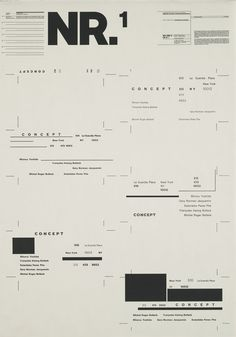 Wolfgang Weingart - Typographic Process, Nr 1. Organized Text Structures.
