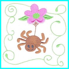 BeautifulBugs - Free Instant Machine Embroidery Designs