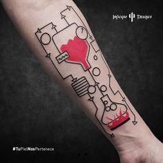 Tatuaje por Javier Gaona, geometric tattoo blanco y rojo, red ink, #geometrictattoo #tatuajes #tatuaje #tattoo #tattoos #tattooideas #tattooed #tattooedgirl #tattooedmen #tattoolife #tattoostuff #cooltattoos #ink #inked #inkedgirl #inkedmen #inkedlife #inkedworld #infierno #infiernotatuajes #mexico #mx #mexicocity #df #awesome