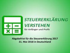 Abgabefrist für die Steuererklärung 2017 | Steuerberater Blog