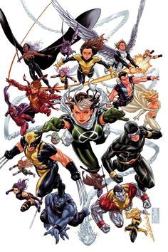 "The X-Men: Legacy // artwork by Mark Brooks (2012) Cover art for X-Men: Legacy #275. The final issue of the book before ""Marvel Now"" begins. On a personal note I'm gonna miss this one, It's the only comic I've tracked and bought every single issue to this date. It's the book that made me fall in love with the X-Men."