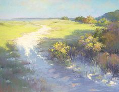 Close To the Beach by Jane McGraw-Teubner Pastel ~ 11 x 14