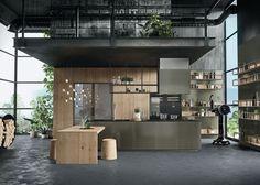 Cucine classiche con isola: design Iosa Ghini con Frame | Snaidero ...